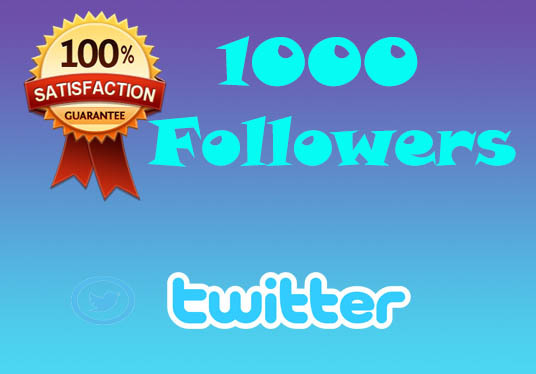I will Get You 1000 Followers On Twitter