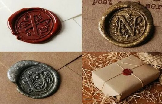 I will create a customized wax seal logo design