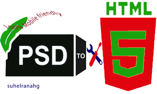I will transform your psd to html template