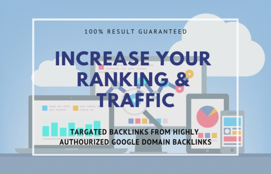 I will create 140 high dofollow backlinks improves SEO in 2019