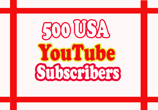 cccccc-give you Guaranteed  500 USA Youtube Subscribers