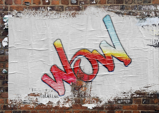 create your name or logo as graffiti