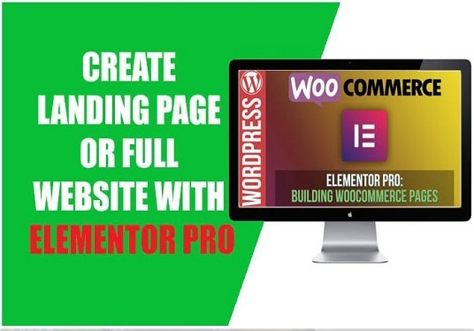 I will Create Full Website With Elementor Pro
