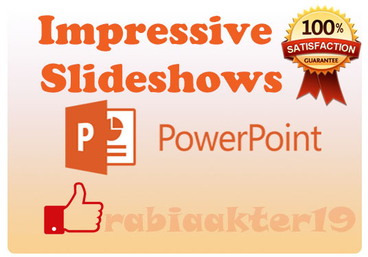 I will Make Impressive PowerPoint Slideshow For You