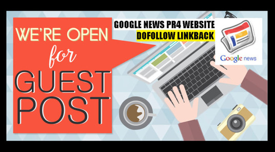 I will Guest Post On Google News Approved Website With Dofollow Links