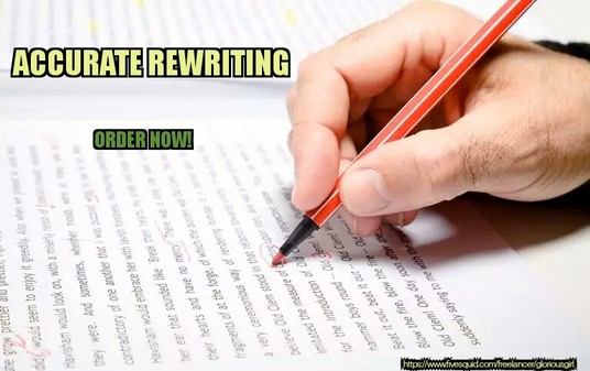 I will Professionally Rewrite Your Article