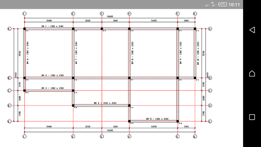 create reinforced concrete structural design drawings from your architectural drawings