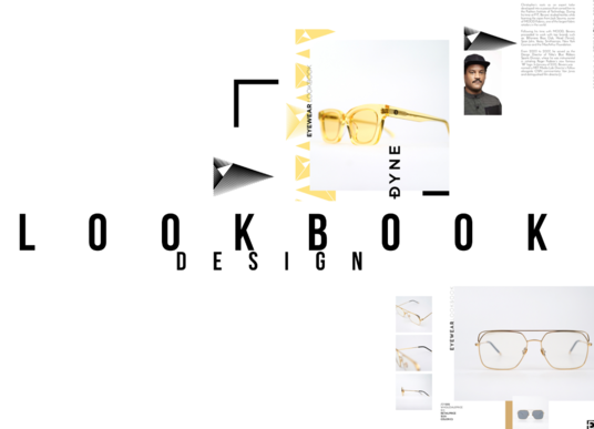 I will design a look book