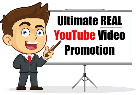 I will do ultimate  Authentic YouTube video promotion through social media sharing among 50k audi