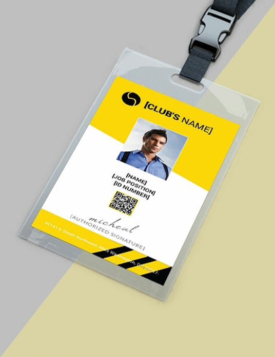 I will design identity card, id card or any custom card design