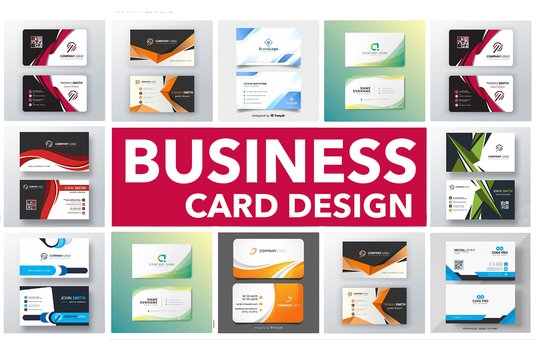 create business card  design or redesign business card
