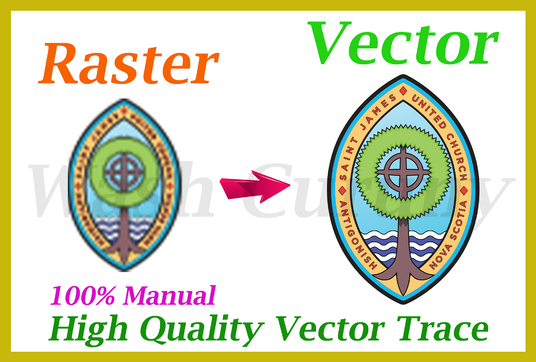 I will Convert Your  Graphic To Vector