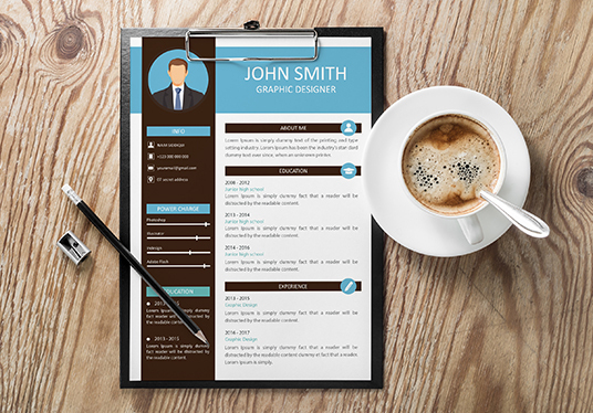 I will design your CV