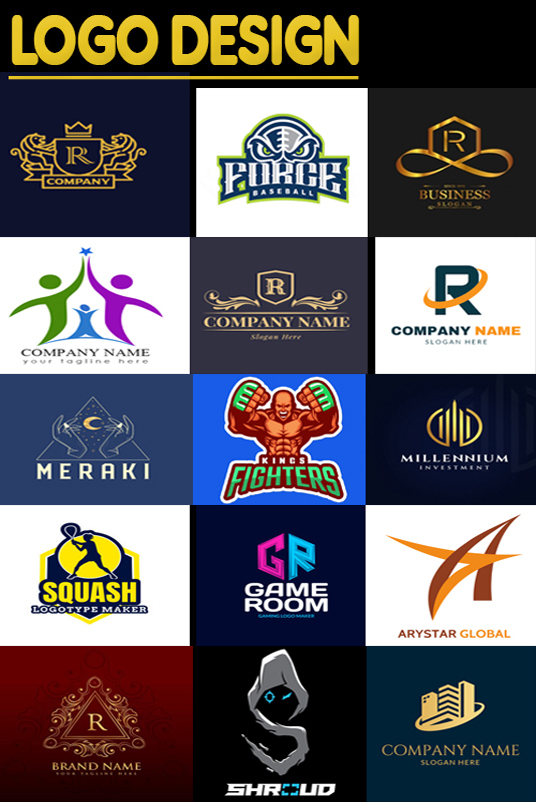 I will do Creative logo design