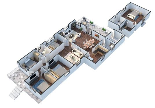 I will Redraw Floor Plan For Real Estate Agents