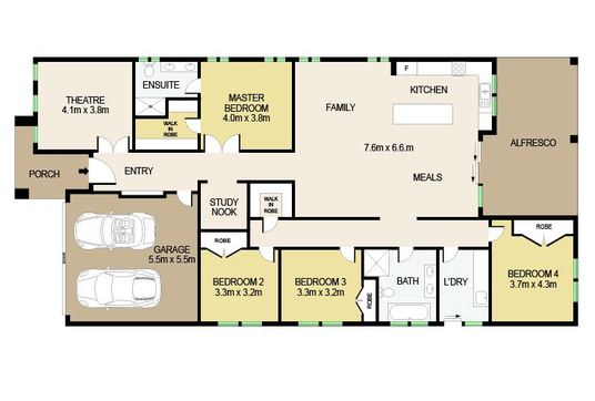 Redraw Floor Plan For Real Estate Agents