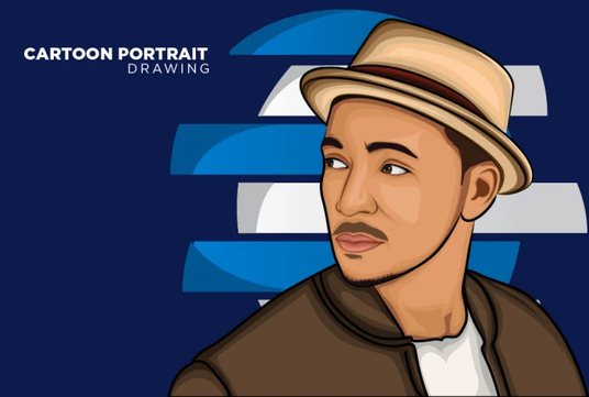 I will Draw Cartoon Portrait Avatar
