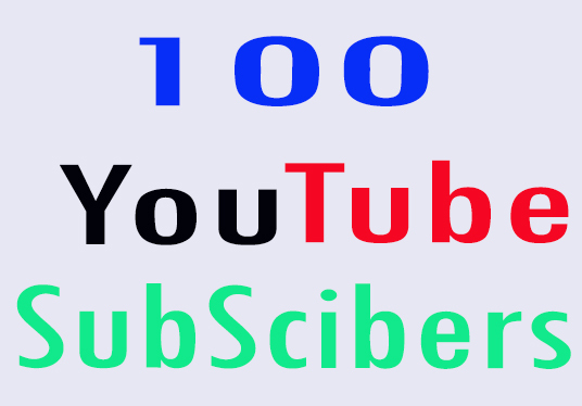 I will provide 100 Youtube Subscribers