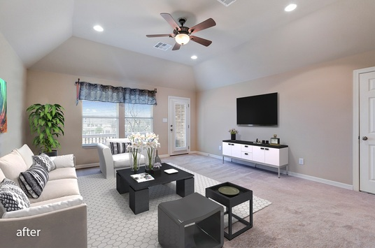 Do The Best Virtual Furniture, Virtual Staging