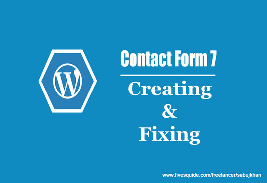 I will Create or Fix Contact Form on WordPress Website