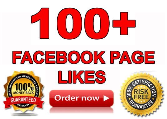 I will add 100+ Real Facebook page likes