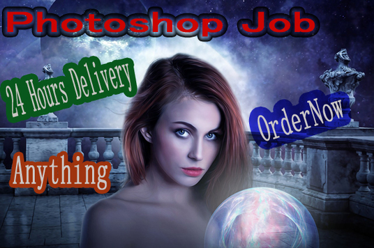 do  Photoshop  Retouching work in 24 hours