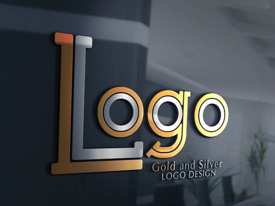 I will Design A Modern Gold Logo With Fast Delivery