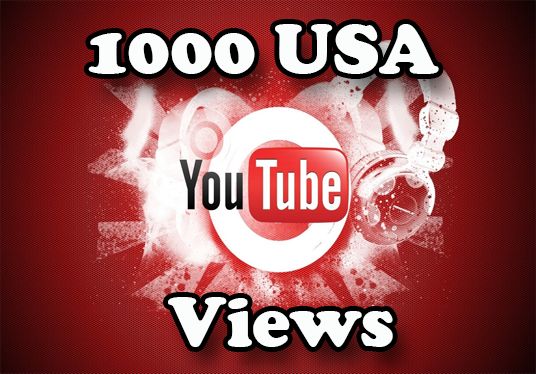 I will add 1000 USA YouTube Views