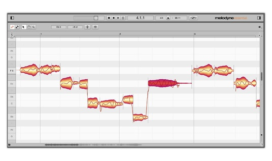 make your vocals or instruments sound pitch perfect with melodyne