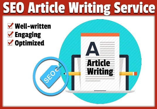 do 600 Words Content Writing, Article Writing And SEO Blog Writing