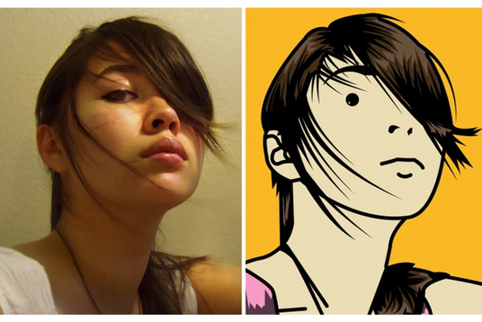I will Turn Your Photo Into Cartoon Art In The Julian Opie Style