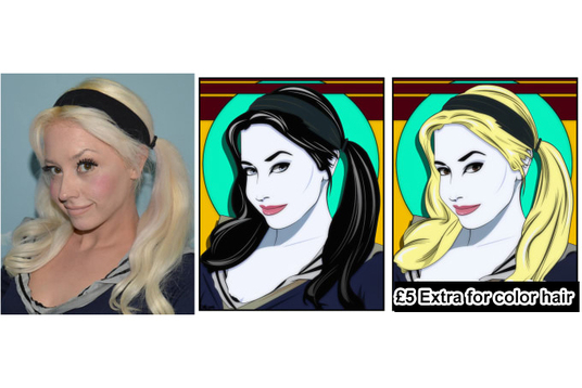 Turn Your Photo Into My Version Of A Patrick Nagel Pop Art