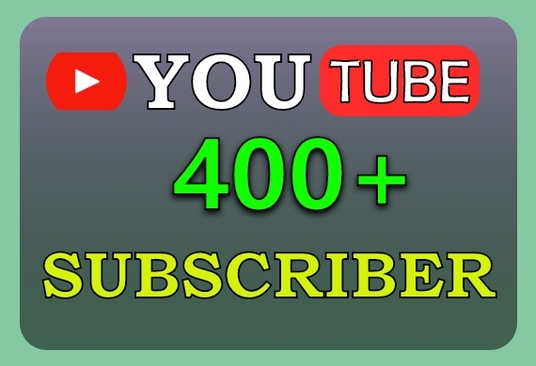 I will deliver 400+ YouTube subscribers