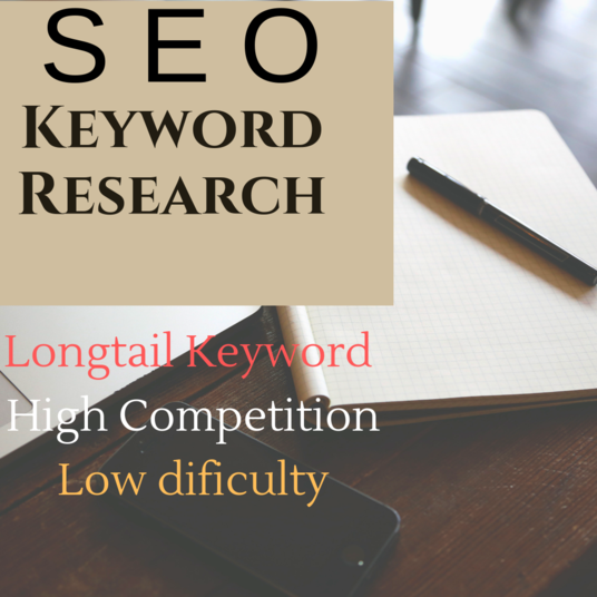I will Do Keyword Research And Analyze The Competitor