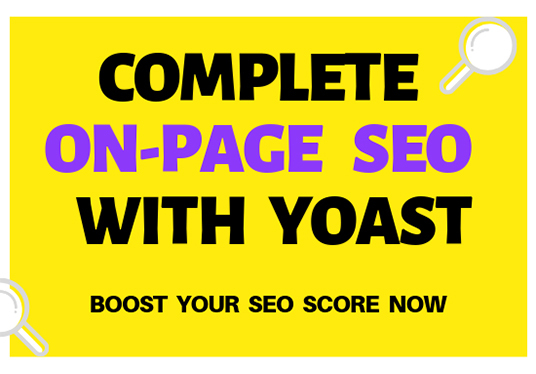 I will Do Complete On Page SEO For Wordpress With Yoast