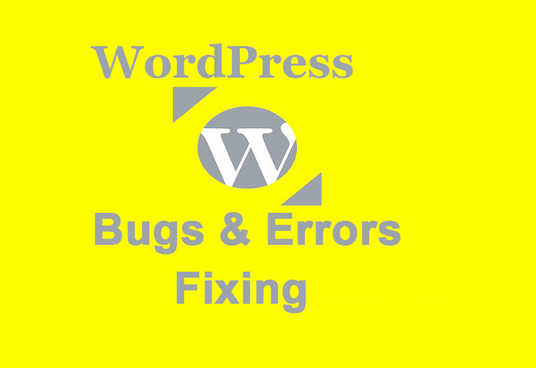 I will Fix WordPress Bugs, Errors and Issues