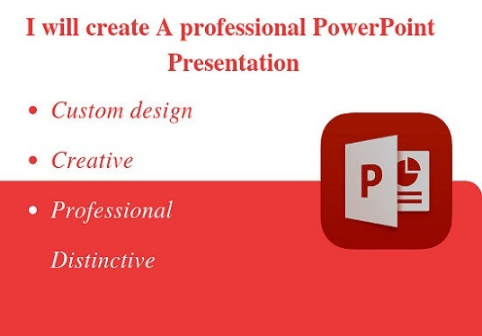I will Create An Attractive, Creative Business Presentations