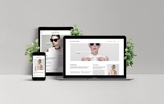 I will create a single page website site for you