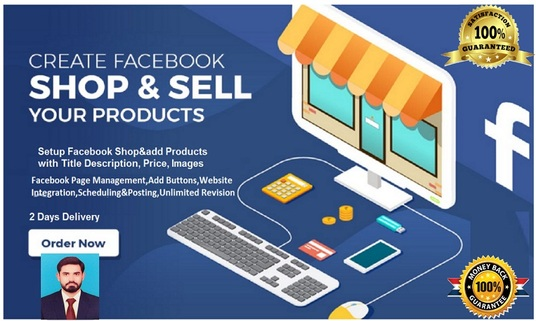 I will Setup Facebook Shop And Add Products, Manage Business Page