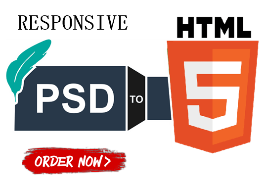 I will Do Conversion Responsive PSD to HTML With Bootstrap