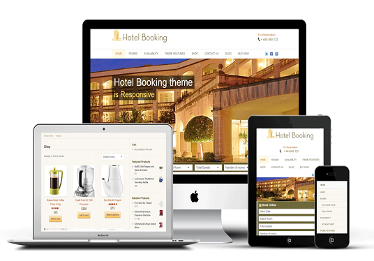 I will create Booking system, design WordPress website