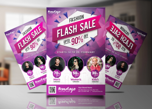 Design Professional Flyer And Poster In 24 hours