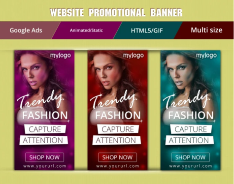 Design Static Banners Ads