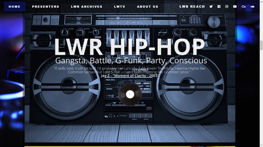 develop an online radio streaming website