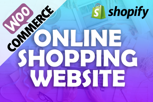 I will build an online shop or ecommerce website
