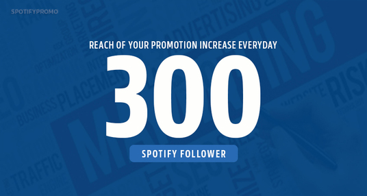 I will Promote 300 Followers For Your Spotify Artist profile