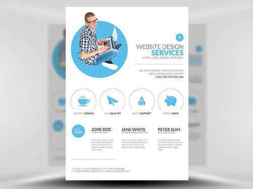 Design Business, Corporate Flyer