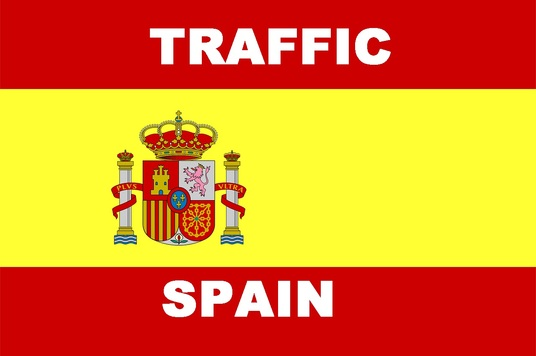 drive 8000 Spain human real Traffic with extras