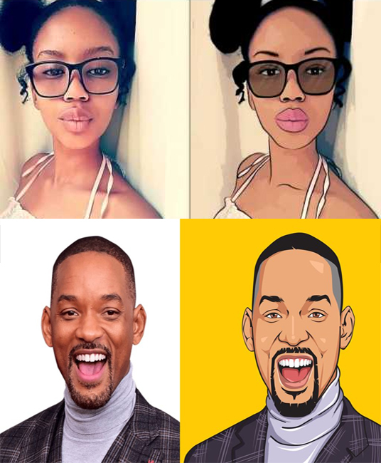 I will Draw Caricatures or Cartoons from your Photos