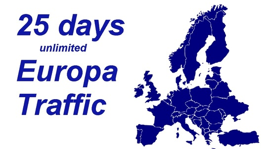 I will in 25 days   drive unlimited europa visitors  with EXTRAS